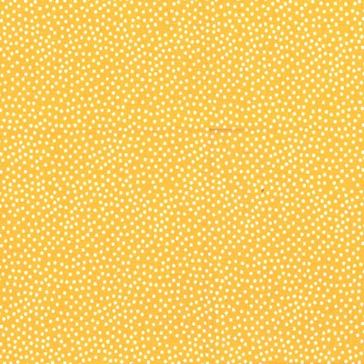 Garden Pindot Quilt Fabric - Sunshine Yellow - CX1065-SNSH-D