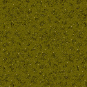 Gratitude and Grace Quilt Fabric - Dotted Bramble in Green - 9412-66