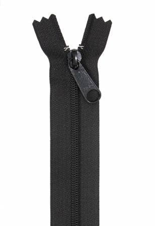 "Handbag Zipper, 24"", Single Slide By Annie - Black - ZIP24-105"
