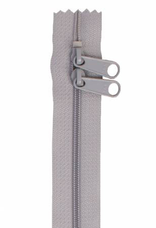 "Handbag Zipper, 30"", Double Slide By Annie - Pewter - ZIP30-110"