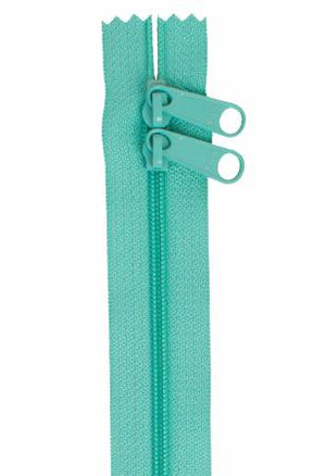 "Handbag Zipper, 30"", Double Slide By Annie - Turquoise - ZIP30-212"