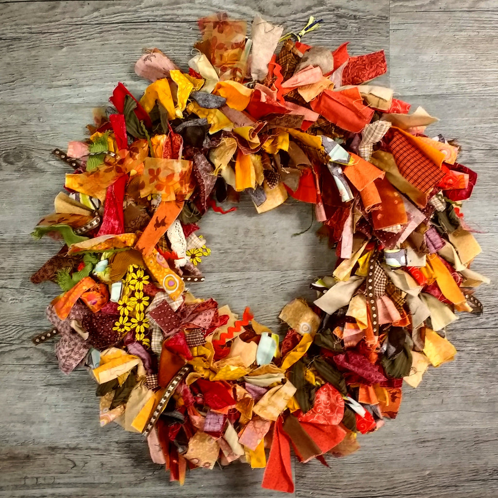 Digital Download: Happy Scrappy Wreath