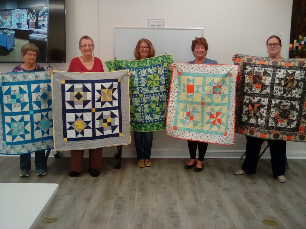 2021, 07/18, 08/01, 8/08, 08/15 & 08/29 Beginning Quilt Making Class with Kim - 1:30 - 4:30 PMM