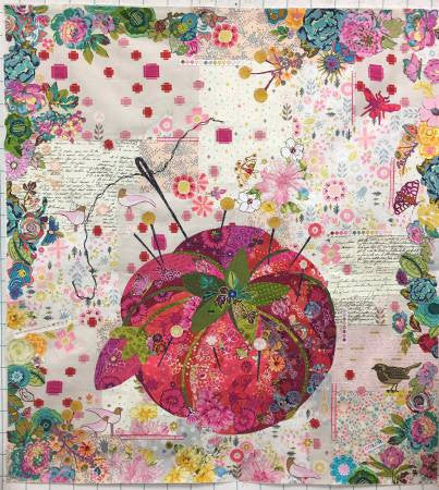 Pincushion Collage Quilt Pattern by Laura Heine - LHFWPINCUS30