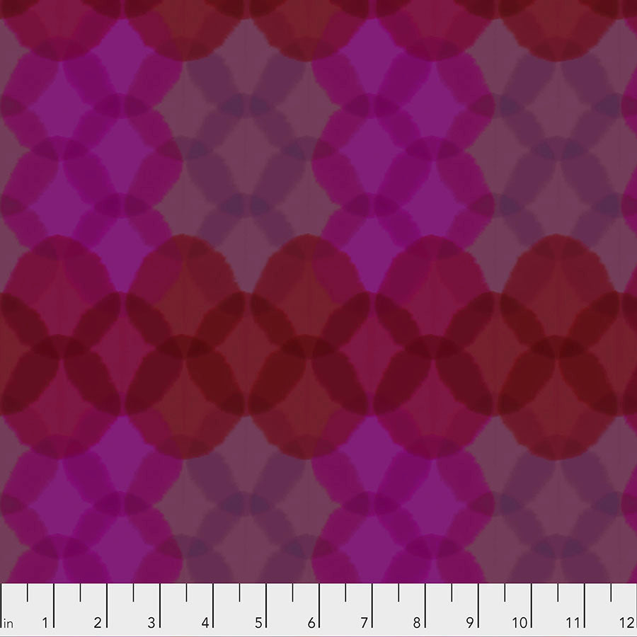 Long Distance Quilt Fabric - Bokeh Geometric in Sunset Purple - PWCO005.SUNSET