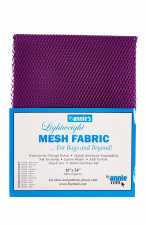 Mesh - Lightweight ByAnnie, 18 in x 54 in - Tahiti Purple - SUP209-TAH