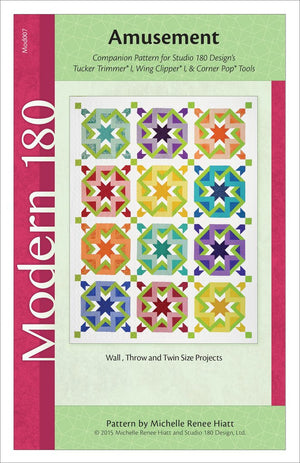 Amusement Quilt Pattern - Mod007w