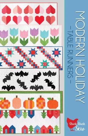 Modern Holiday Table Runners Pattern by Cluck Cluck Sew - CCS186