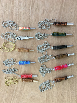Hand Turned Seam Rippers with Chains