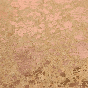 Pro Lite Natural Rose Gold Splatter Cork Fabric, 1/2 yard - HCFROSS