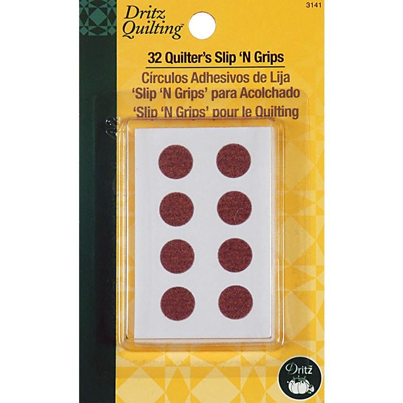 Quilter's Slip 'n Grips - pack of 32 - 3141