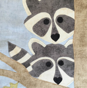 Pattern Only: Raccoons and Robins Treehouse - ONLINE ORDERS