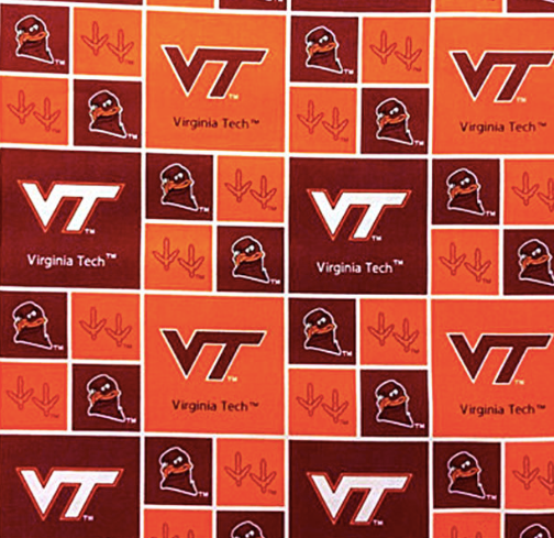 College Cottons VT-020 Virginia Tech