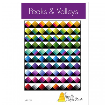 Peaks & Valleys Quilt Pattern - NEH1720