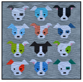 Dog Gone Cute Quilt Pattern - SFQ-DOG