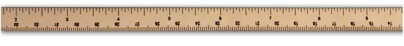 Wrist Ruler (Leather) - Natural