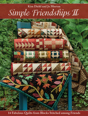 Simple Friendships II Quilt Book by Kim Diehl and Jo Morton - B1459