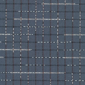 Spring Shimmer Quilt Fabric - Plaid in Charcoal Gray - AJSP-19702-184 CHARCOAL