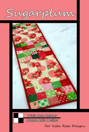 Sugarplum Table Runner Quilt Pattern by Villa Rosa Designs - VRDOQ19