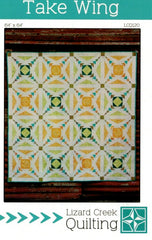 Take Wing Foundation Paper Pieced Quilt Pattern - LCQ120