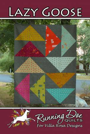 Lazy Goose Quilt Pattern by Villa Rosa Designs - VRDRD001