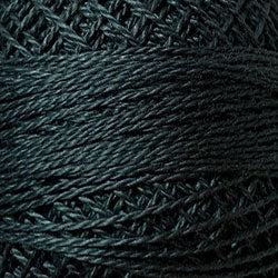 Valdani 2 Charcoal Solid - Perle/Pearl Cotton Size 12, 109 yard ball - PC12-2