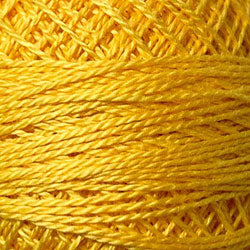 Valdani V106 Gold Splendor - Perle/Pearl Cotton Size 12, 109 yard ball - PC12-12