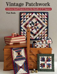 Vintage Patchwork Quilt Book by Pam Buda - B1420T