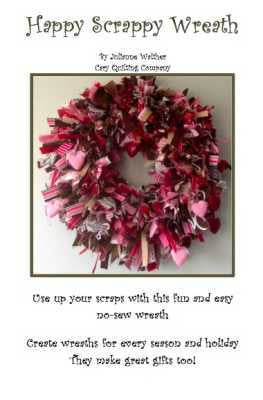 Happy Scrappy Wreath