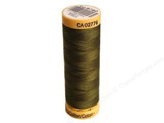 Gutermann Cotton Thread, 100m Olive Drab, 8780