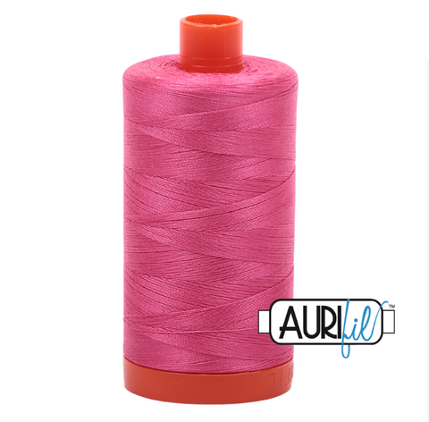 Aurifil 50 wt Cotton Thread, 1300m, Blossom Pink (2530)