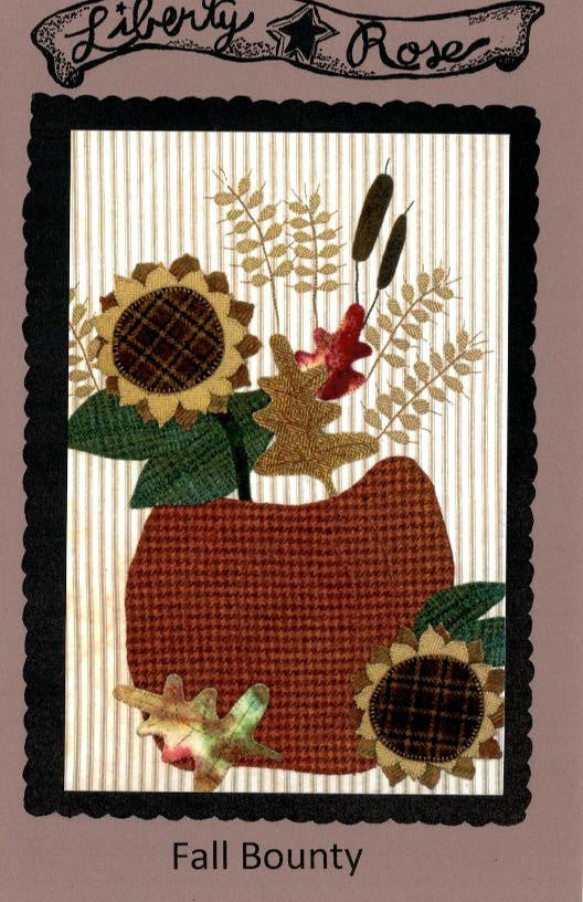 Fall Bounty Wool Applique Pattern - LR-BOU