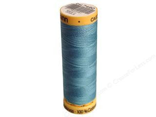 Gutermann Cotton Thread, 100m Gulfstream Blue, 7490