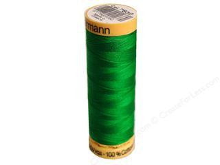 Gutermann Cotton Thread, 100m Bright Green, 7830