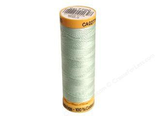 Gutermann Cotton Thread, 100m Pale Green, 7700