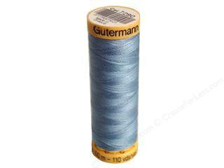 Guterman Cotton Thread, 100m Chambray