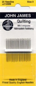 Betweens Hand Needles, size 9