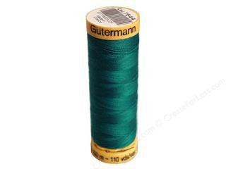 Gutermann Cotton Thread, 100m Very Dark Turquoise, 7544