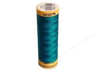 Gutermann Cotton Thread, 100m Dark Turquoise, 7540