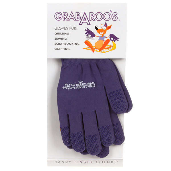 Grab A Roo Gloves For Quilters Size Small