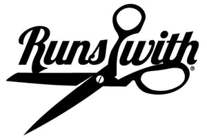 Runs with Scissors Decal