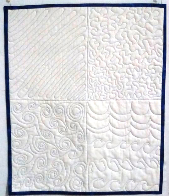 2021, 02/10 Free Motion Quilting Class with Kim -  10:30AM - 1:30PM
