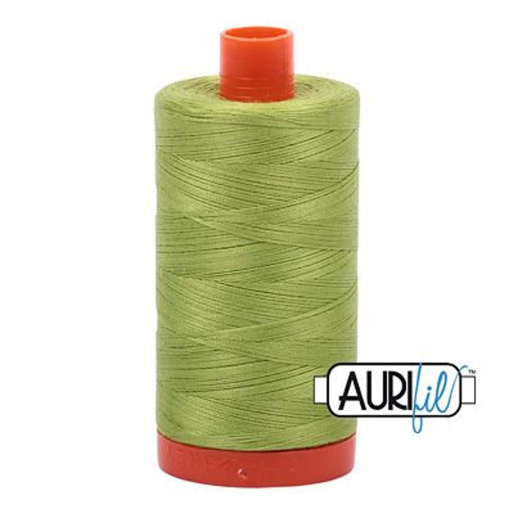 Aurifil 50 wt Cotton Thread, 1300m, Spring Green (1231)
