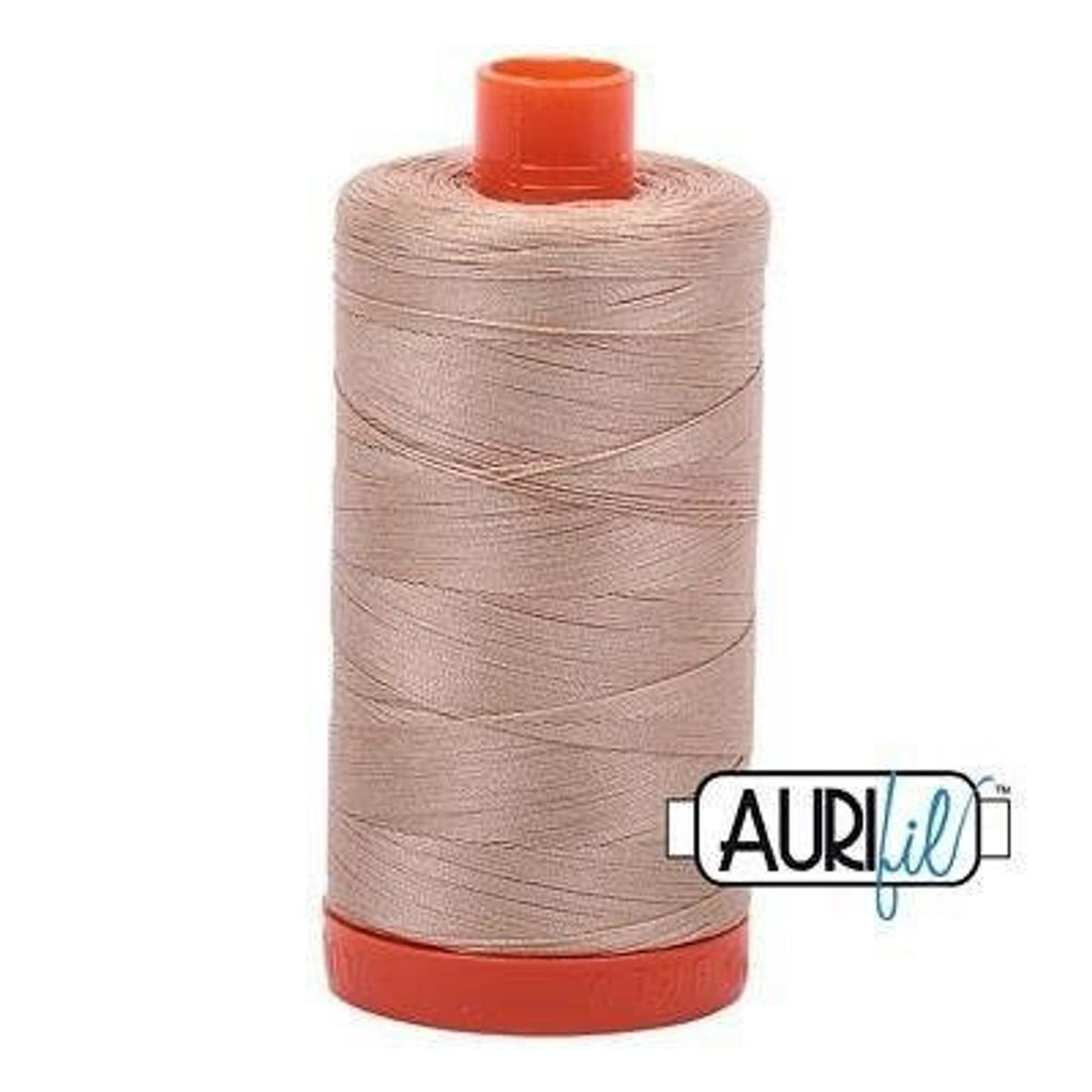 Aurifil 50 wt cotton thread, 1300m, Beige (2314)
