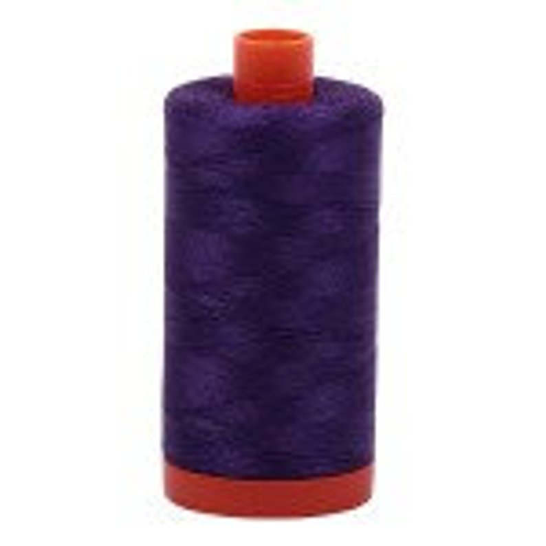 Aurifil 50 wt Cotton Thread, 1300m, Medium Purple (2545)