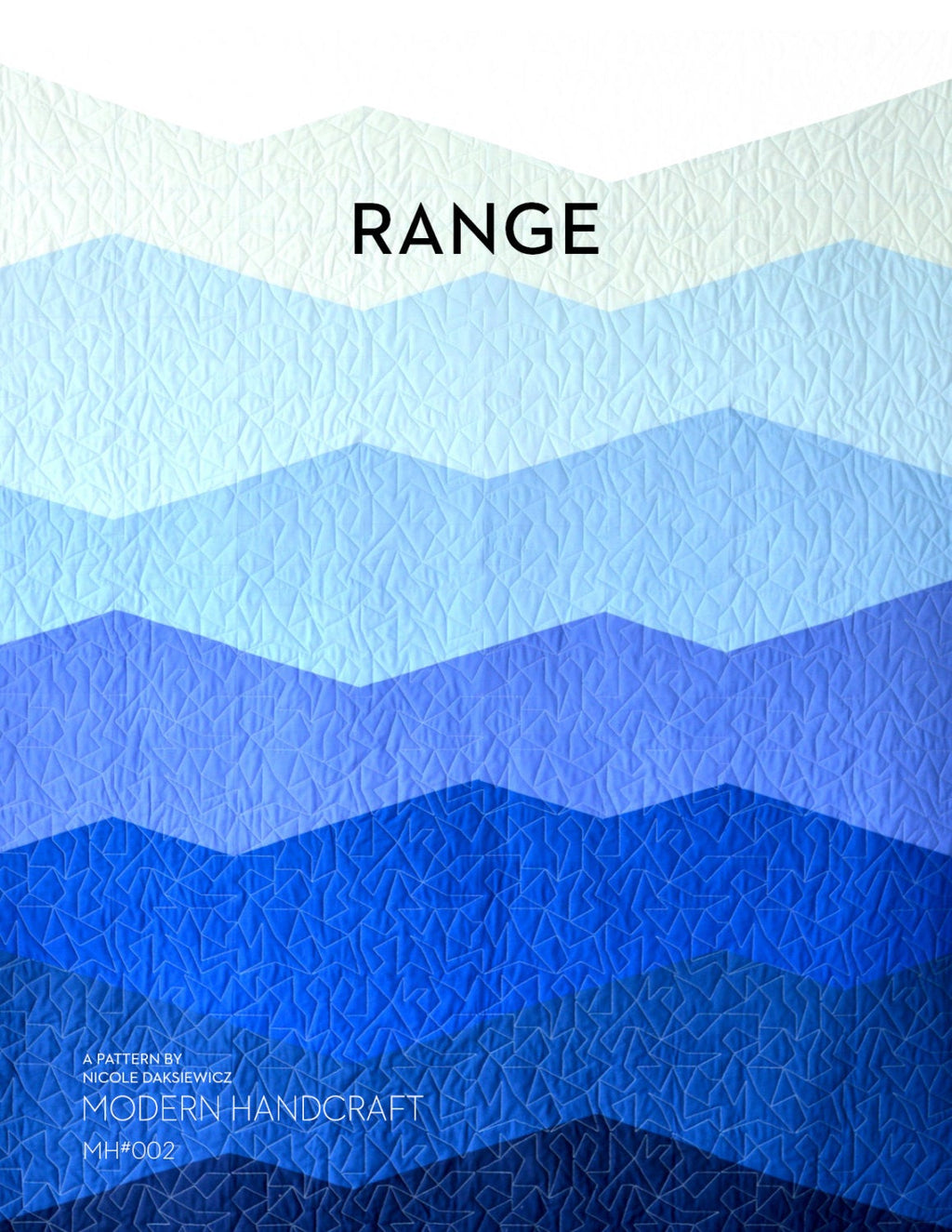 Range Quilt Kit - Daybreak Colorway (Blues)