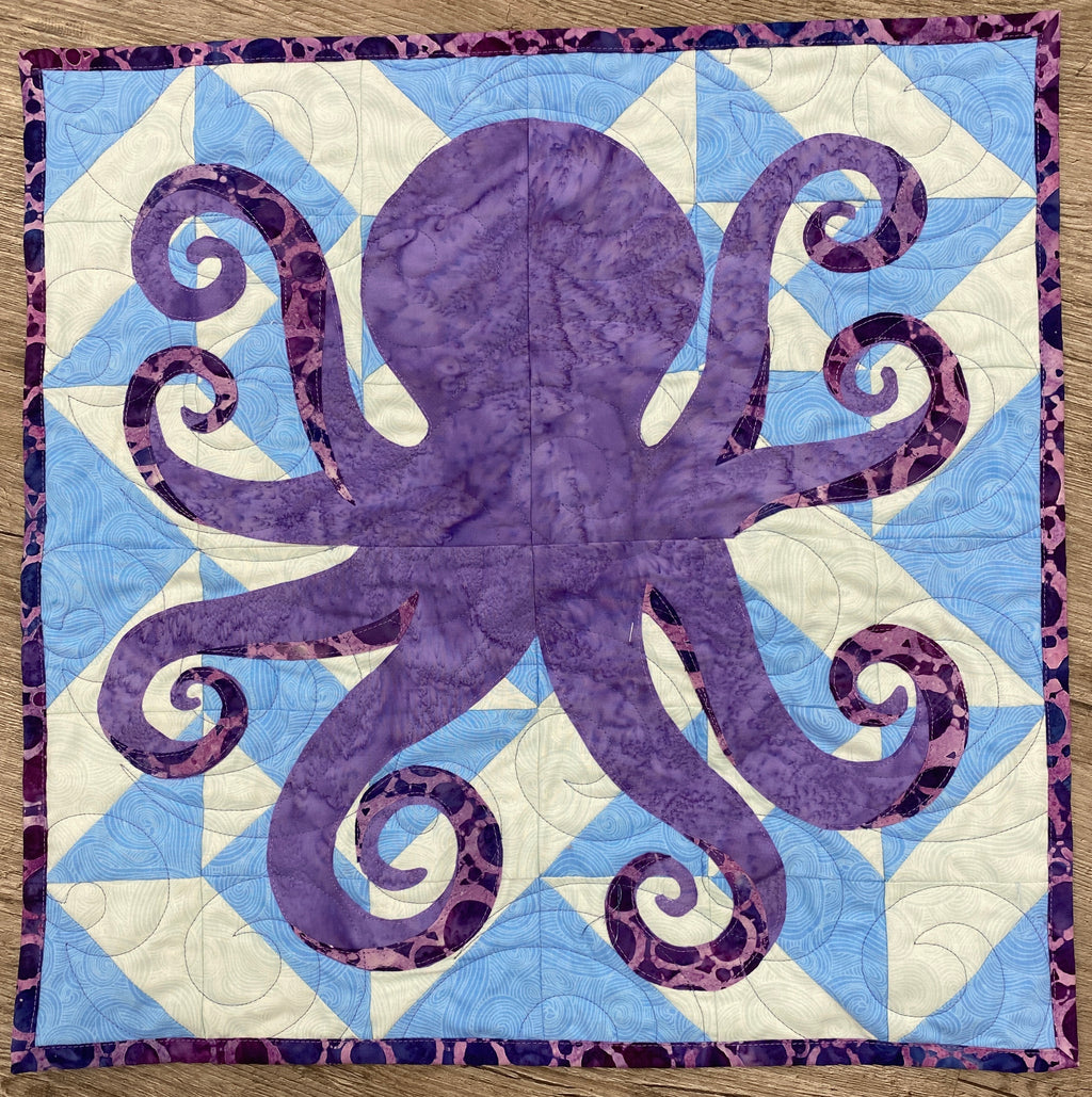 Quilters Trek 2020 Kit - The Octopus One