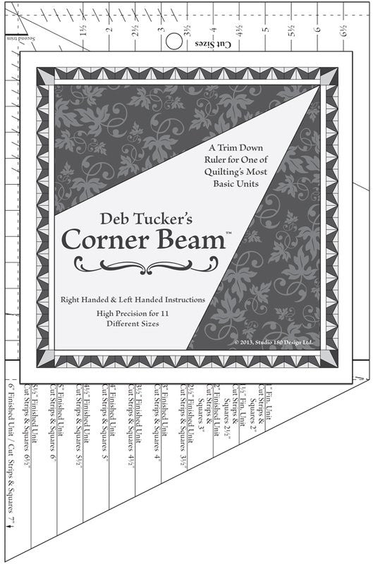 Corner Beam Ruler - DT12w