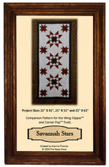 Savannah Stars Table Runner Pattern - THC-102