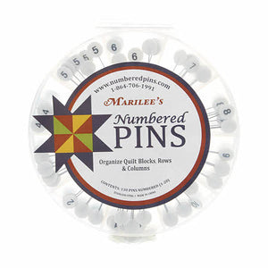 Marilee's Numbered Q-Pins - NQPINS